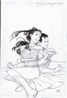 JLA Classified Issue 50 Comic Art